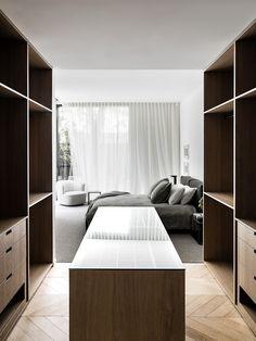 Modern Interior Design, Interior Architecture, Interior Ideas, Kim House, Town House, Built In Dresser, Home Decor Styles, Soft Furnishings, Space Saving