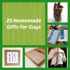 There are lots of gifts you can make for the guys in your life from dads and grandpas to boyfriends, husbands and brothers that are sure to be...