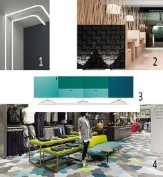 Isabel's Picks for Spring 2019 >FEEL LIKE MAKING A STATEMENT? Add a pinch of colour. Eden Design, ledline 60, LED LIGHT,INDOOR TILES,WOW Design EU, Arch tiles, CABINET, Quodes, Satellite, Edward Barber & Jay Osgerby, LINOLEUM FLOORING,Forbo Flooring Systems,Marmoleum Eden Design, Lead Lines, Cabinet Manufacturers, Linoleum Flooring, Led Module, Barber, Jay, Tiles, Arch