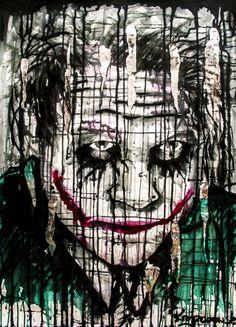 Joker by KrzyzanowskiArt.deviantart.com on @DeviantArt