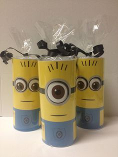 Despicable Me Minion Candy rolls 10 por CleverCreations112 en Etsy, $27.00