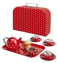 this is adorable!  am i too big for a tea set for ages 3 and up?
