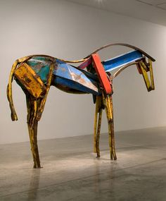 Deborah Butterfield's horses are grace and strength, beauty and soul.