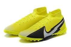 Nike Mercurial Superfly Black Football Boots, Superfly, Cleats, Nike, Yellow, Shoes, Football Boots, Zapatos, Cleats Shoes