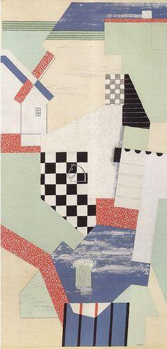 Landscape with Chessboard, 1925   J. Št.