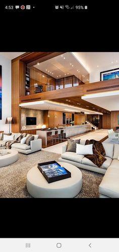 Best Indoor Garden Ideas for 2020 - Modern Mansion Interior, Dream House Interior, Luxury Homes Dream Houses, Apartment Interior Design, Dream Home Design, Modern House Design, Modern Architecture House, Interior Architecture, Design Salon