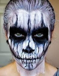 Image result for halloween makeup men
