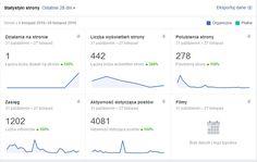 Karolina: Statystyka miesięczna: fanpage i blog