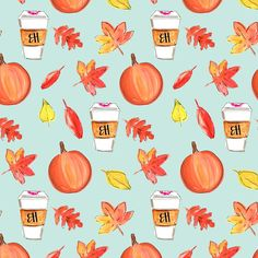 """1,372 Likes, 31 Comments - EVELYN HENSON (@evelyn_henson) on Instagram: """"Can you beLeAf it's Fall?! New wallpapers are on the downloads section of evelynhenson.com to help…"""""""