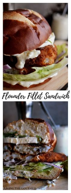 I recommend Fotor for all my photo editing needs. All opinions expressed below are my own. Today we're sharing these crispy, fresh Flounder Fillet Sandwiches and giving you a little behind-the-scenes look at photo editing at Living the Gourmet. This New Year, I've decided to make a project of recreating a lot of old recipes...