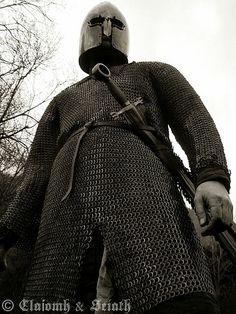 15th century Galloglass Medieval Weapons, Medieval Knight, Medieval Fantasy, Irish Costumes, Period Costumes, Irish Warrior, Medieval World, Knight Armor, Arm Armor