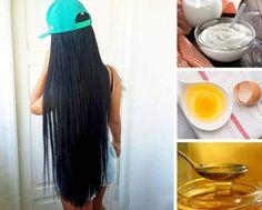 Máscara de Ovo, iogurte e mel para estimular o crescimento dos cabelos