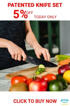 Chef's Ultimate Choice: Sharpze's Premium kitchen Knives set is made of high-quality stainless steel that resists rust and corrosion. Ideal for chopping, slicing, dicing, and mincing all kinds of meat, vegetables, fruits, and bread . . . . #chefknifeset #knifesetkitchen #paringknife #serratedparingknife #vegetableknife