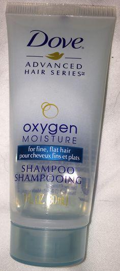 Dove shampoo, travel size, new