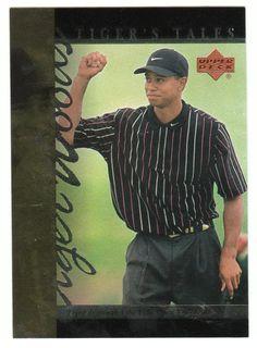 Tiger Woods # TT-25 - 2001 Upper Deck Golf Tiger's Tales