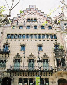 Casa Amatller de Josep Puig i Cadafalch (Barcelona)