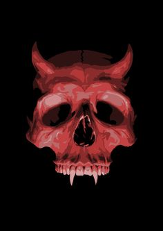 The devil skull Dark Fantasy Art, Dark Art, Crane, Pix Art, Peculiar Children, Creepy Pictures, Skull Print, Skull And Bones, Sci Fi Art
