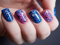 Chalkboard Nails: Reverse, Reverse! ft. Pretty and Polished
