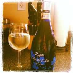 Moscato. Love this brand! Since I know not a lot of people like Champane, this would make a great alternative.