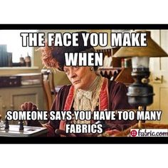 Can you feel the dagger eyes? #quilting #humor