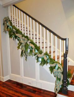 Xmas Garland for Staircase