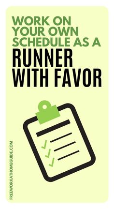 Do you want an active job that lets you meet great people in your city? Then you should become a Runner with Favor!   A Runner is a delivery driver but works like a personal assistant who delivers items to customers' doors. Here is my review and tips on how to get started!  #remotework #jobs #workathome Earn Money Online Fast, Earn Money From Home, How To Make Money, Home Based Work, Work From Home Tips, Customer Service Jobs, Typing Jobs, Jobs For Teens, Virtual Assistant Jobs