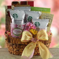 Starbucks for Mom  Mothers Day Gift Basket