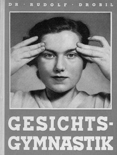 With regard to facial exercises, Elisabeth Sigmund was inspired by the method created by Dr Dr Rudolf Drobil from Vienna. She obtained permission from him to base her exercises on his work. © Dr. Dr. Drobil