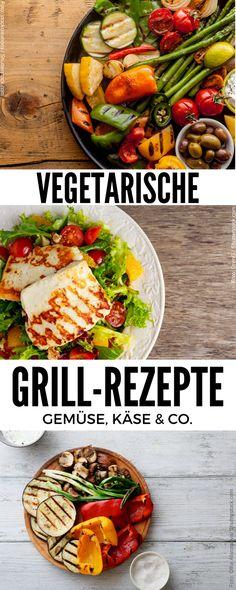 Feurige Maiskolben, knackige Gemüsespieße und frische Salate: Vegetarisch grillen ist nicht nur einfach, sondern auch extrem lecker. Hier gibt's die besten Veggie-Rezepte der Grillsaison