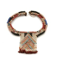 Gourd Vessel Date: century Location: Not on display Century: Century AD Media: Glass Beads, Gourd, Hide Dimensions: x x cm Necklace Types, Beaded Necklace, Beaded Bracelets, African Jewelry, Tribal Jewelry, Textiles, Africa Tribes, Jewelry Accessories, Jewelry Design