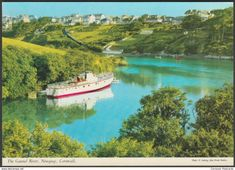 The Gannel River, Newquay, Cornwall, c.1980 - John Hinde Postcard
