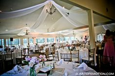 Ceiling Treatment by Eventscapes. Photo by Art of Emotion.