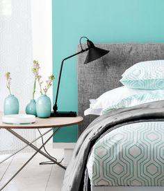 56 images formidables de chambres inspiration paint colors bedrooms et bedroom decor - Chambre parentale grise ...