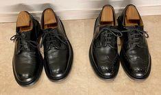 トリッカーズの短靴を衝動買いしてから約2年。頑丈な作りの靴なので最初は履き心地も固く、履くたびに靴擦 […] Men Dress, Dress Shoes, Oxford Shoes, Lace Up, Fashion, Moda, Fashion Styles, Fashion Illustrations, Professional Shoes