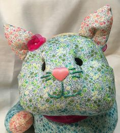 A personal favorite from my Etsy shop https://www.etsy.com/listing/285861971/handmade-stuffed-kitty-a-cat-lovers-gift