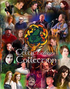 Cape Breton. Nova Scotia  Celtic Colours Festival; October each year
