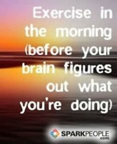 Yep, that's pretty accurate! ;-) | via @SparkPeople #fitness #motivation #quote