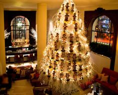 Famous Hotel christmas trees | Christmas-Tree-2012 one aldwych