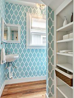 Die 26 Besten Bilder Von Tapete Badezimmer Home Decor Wall Papers