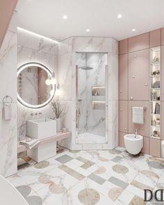 Modern Luxury Bedroom, Luxury Bedroom Design, Room Design Bedroom, Home Room Design, Dream Home Design, Luxury Interior Design, Luxurious Bedrooms, Bathroom Interior Design, Girl Bedroom Designs