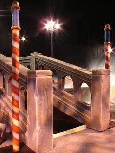 Venice Gondola Pole, Venetian Masked Ball Theme