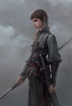 girl brunette spear