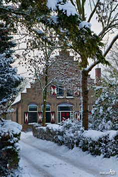 ** Dutch winter cottage