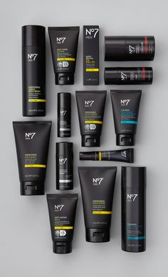 NO7 MENS RANGE on Packaging Design Served