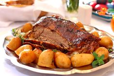 Miel in crusta Thanksgiving Dinner Recipes, Thanksgiving Side Dishes, Holiday Recipes, Easter Lunch, Easter Lamb, Lamb Recipes, Cooking Recipes, Romanian Food, Easter Recipes