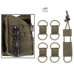 Tasmanian tiger Cable Manager Set – olive drab - Everything About Camping 2020 Molle Gear, Molle Backpack, Backpack Bags, Edc Tactical, Tactical Equipment, Accessoires Molle, Molle Accessories, Battle Belt, Survival Tips