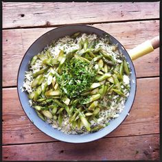 risotto met asperges by Mme Zsazsa, via Flickr