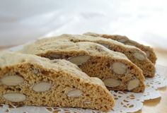 Tuscan Biscotti  A traditional biscotti recipe made with almonds.