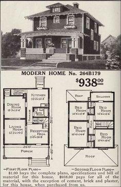 Early 1900 farm house plans