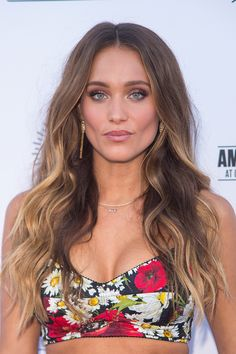 Tigers Eye: Hannah Davis Jeter (Photo by Michael Stewart/WireImage) via @AOL_Lifestyle Read more: http://www.aol.com/article/lifestyle/2016/12/23/biggest-hair-color-trends-2017/21641196/?a_dgi=aolshare_pinterest#fullscreen